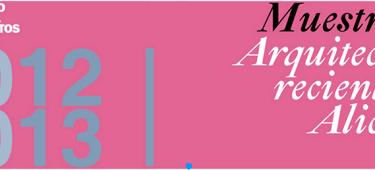 """Gibeller patrocina la 3ª Conferencia del ciclo """"Muestra de Arquitectura Reciente en Alicante 2012/2013″"""