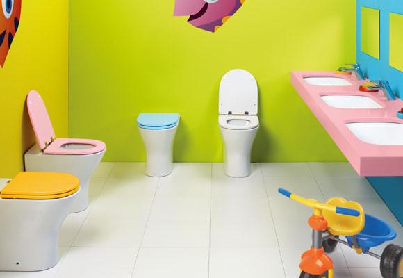 Inodoro para niños, Gala presenta su nueva serie de ...