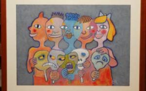 El arte de la solidaridad ,colaboración de Gibeller.