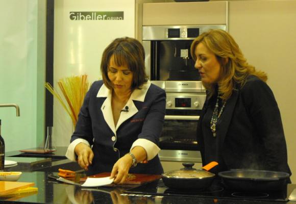 ¿Qué se cuece en Gibeller ? Grabación de un programa de Cocina