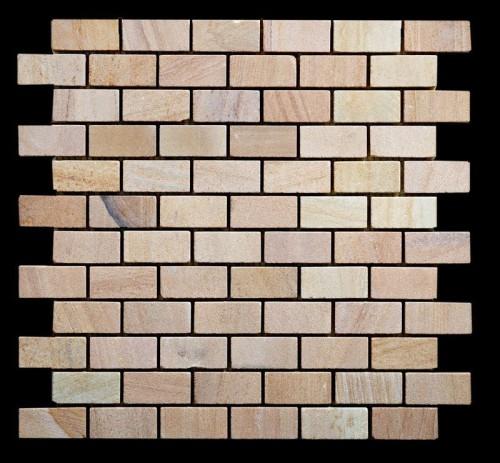 Mosaico Arenisca Teneré Honed