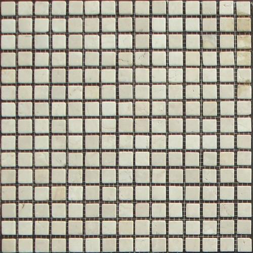 Mosaico Piedra Natural Parquet Blanco