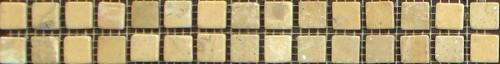 Cenefa Mosaico Piedra Natural Crema