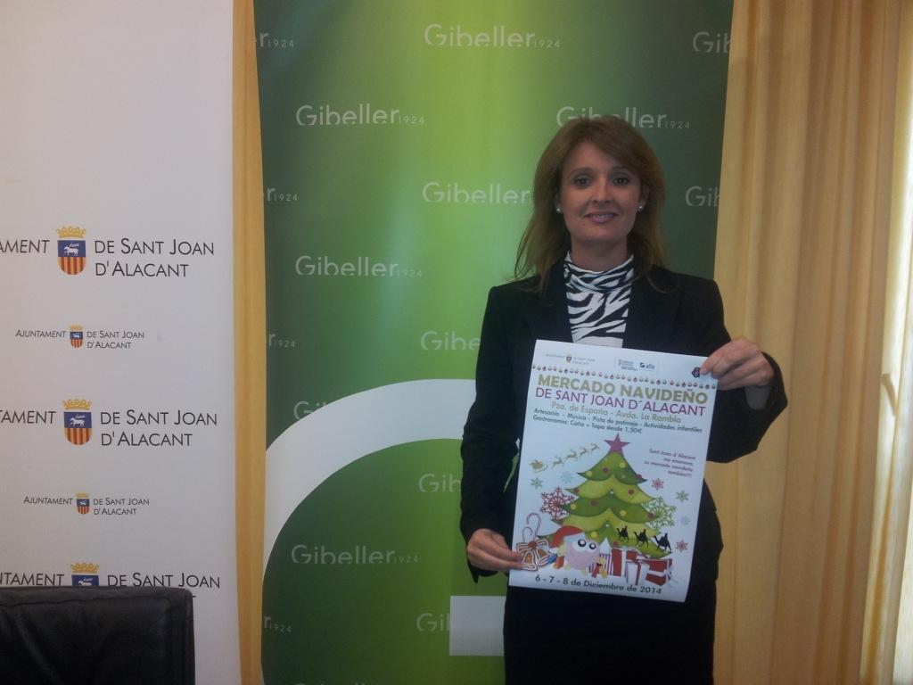 Gibeller presidirá la Feria Navideña de Artesanía y Gastronomía