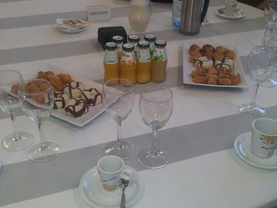 Almuerzo en la jornada AEFA-Gibeller