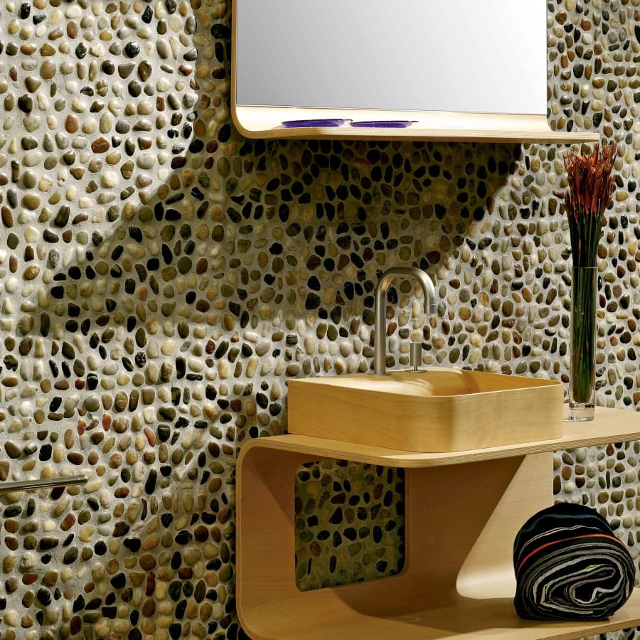 4 ideas para decorar con piedras de r o gibeller for Decoracion pared piedra