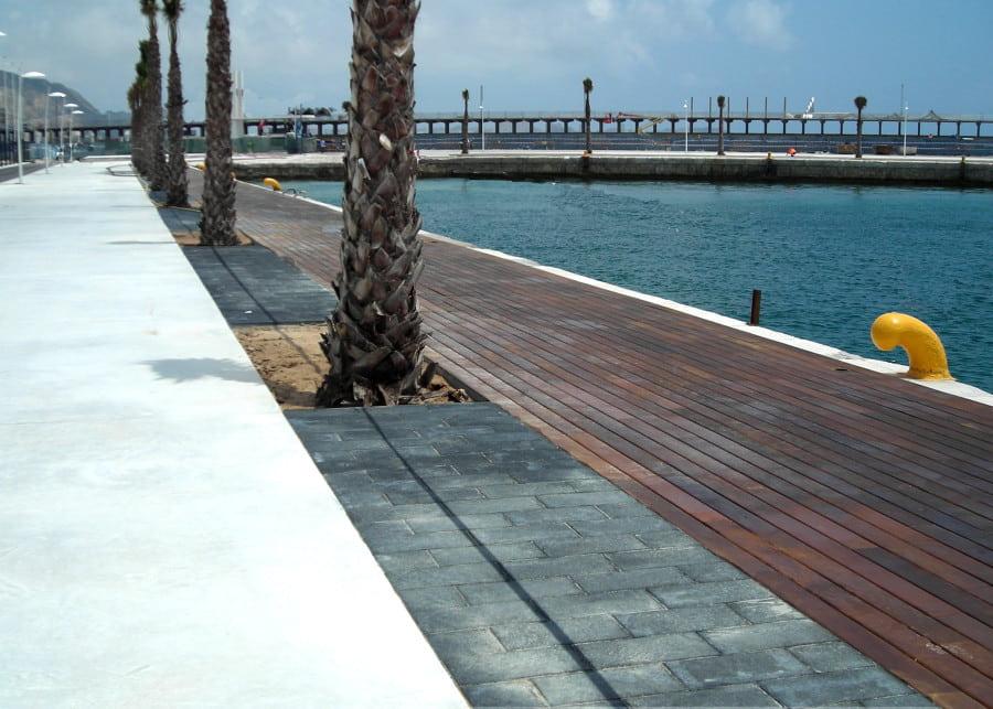 paseo puerto de ALICANTE