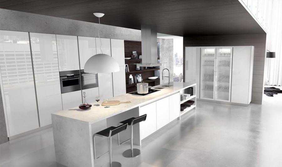 Cocinas modernas 9 propuestas para lograr tu cocina de for Cocinas de ensueno