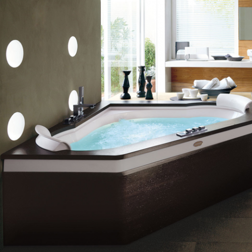 Bañera de hidromasaje Aura Corner 160 de Jacuzzi