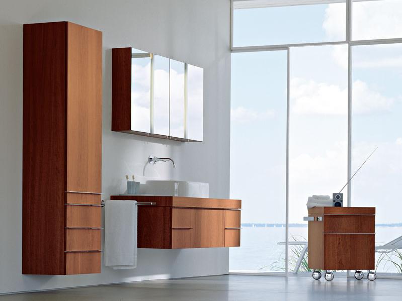 Mueble de baño Happy D2 bajo lavabo de Duravit