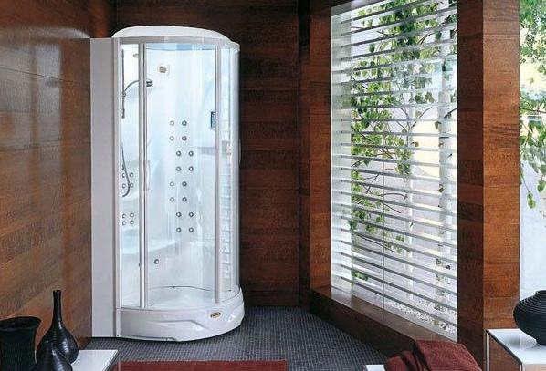 Cabina de ducha Flexa Thema 100 de Jacuzzi