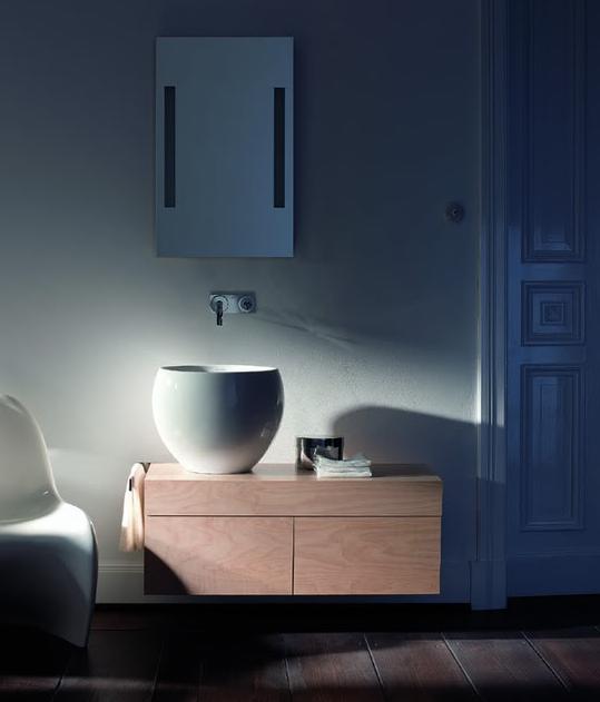 Espejo de Baño Ciottolo con luz de Duravit