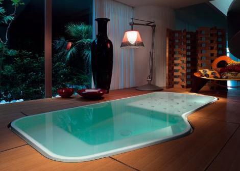 Bañera Hidromasaje minipiscina Faraway Pool de Zucchetti