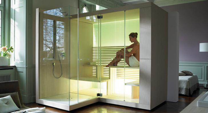 Sauna Spa serie Inipi de Duravit