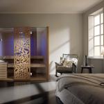 Sauna Hammam Sky Glass de Effegibi