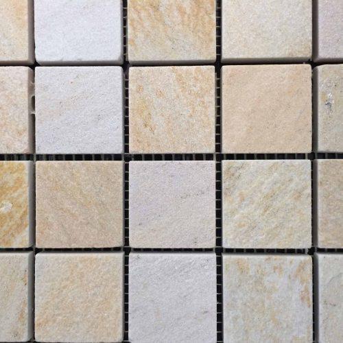 Mosaico Cuarcita Teide MO01