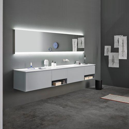 Mueble de baño colección Strato de Inbani