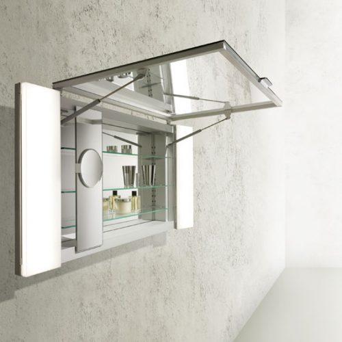 Espejo con armario e iluminación. Royal Universe de Keuko