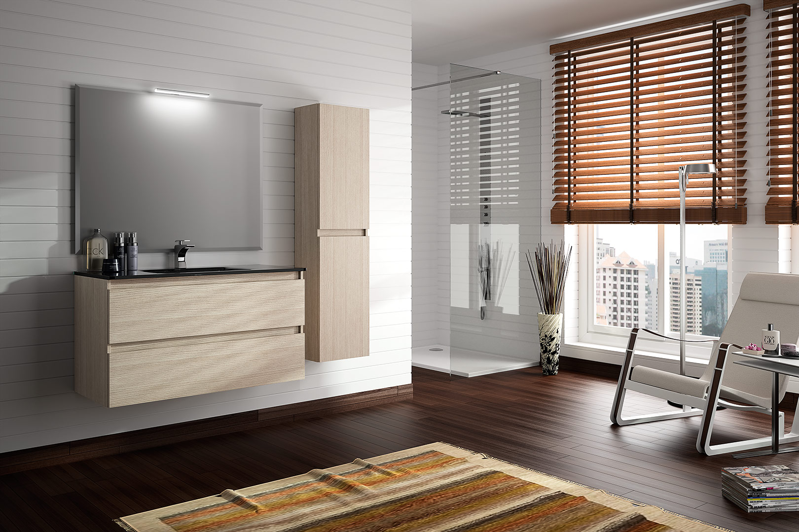 Comprar muebles de ba o online modernos de dise o for Muebles de bano modernos online