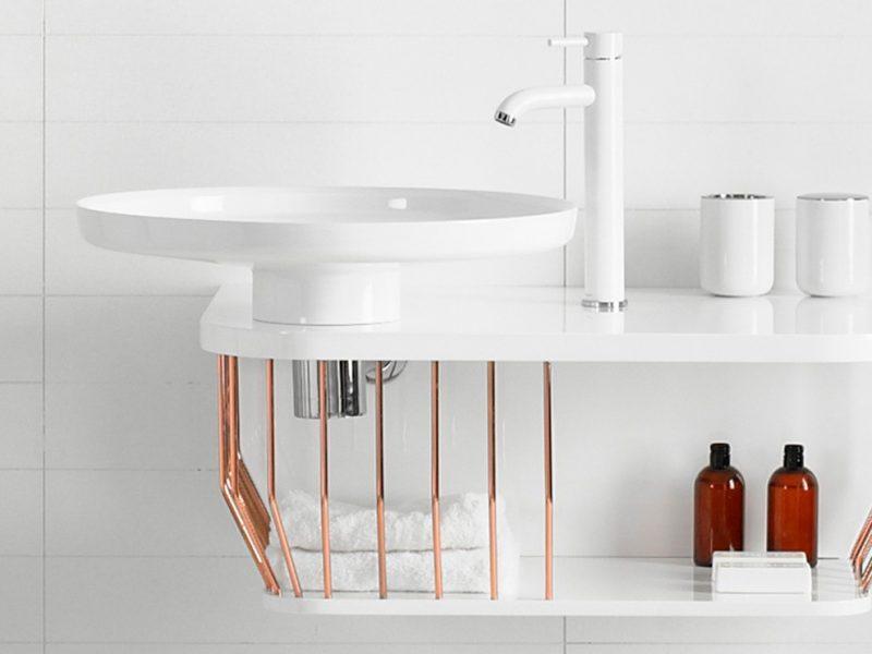 ¿Qué lavabos se llevarán en el baño en 2018?