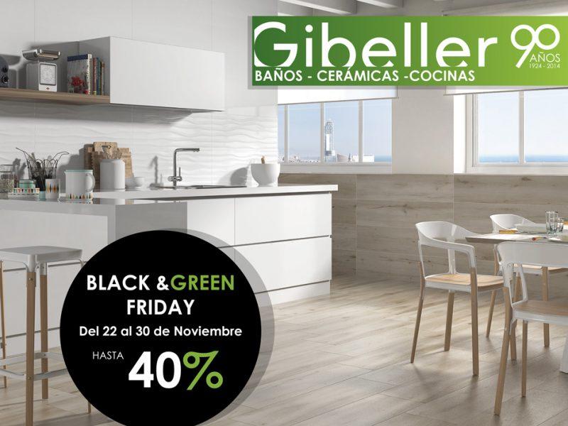 ¡Llega el Black & Green Friday a Gibeller!