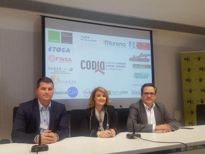 Gibeller presenta lo último en innovación a los diseñadores de interior de la Región de Murcia de la mano del CODID