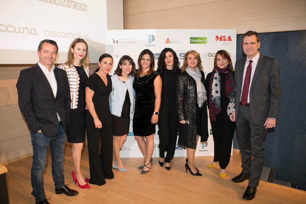 colaboradores en premios MIA