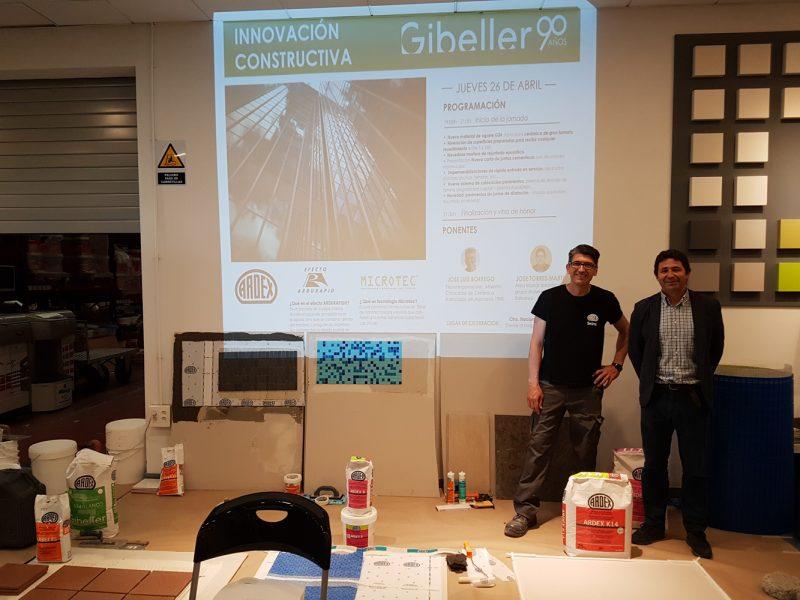 La primera presentación en exclusiva a nivel nacional de la Última Novedad para la Construcción en las instalaciones de Gibeller