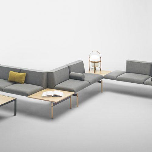 Sofá de sala de espera