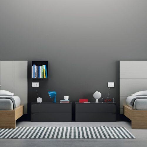 Habitación juvenil doble