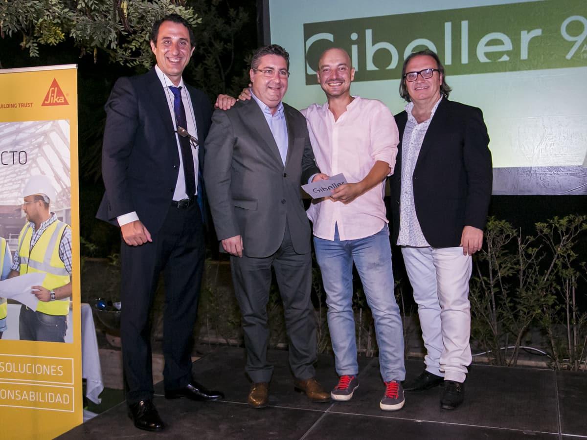 ganador en gala de arquitectos anual