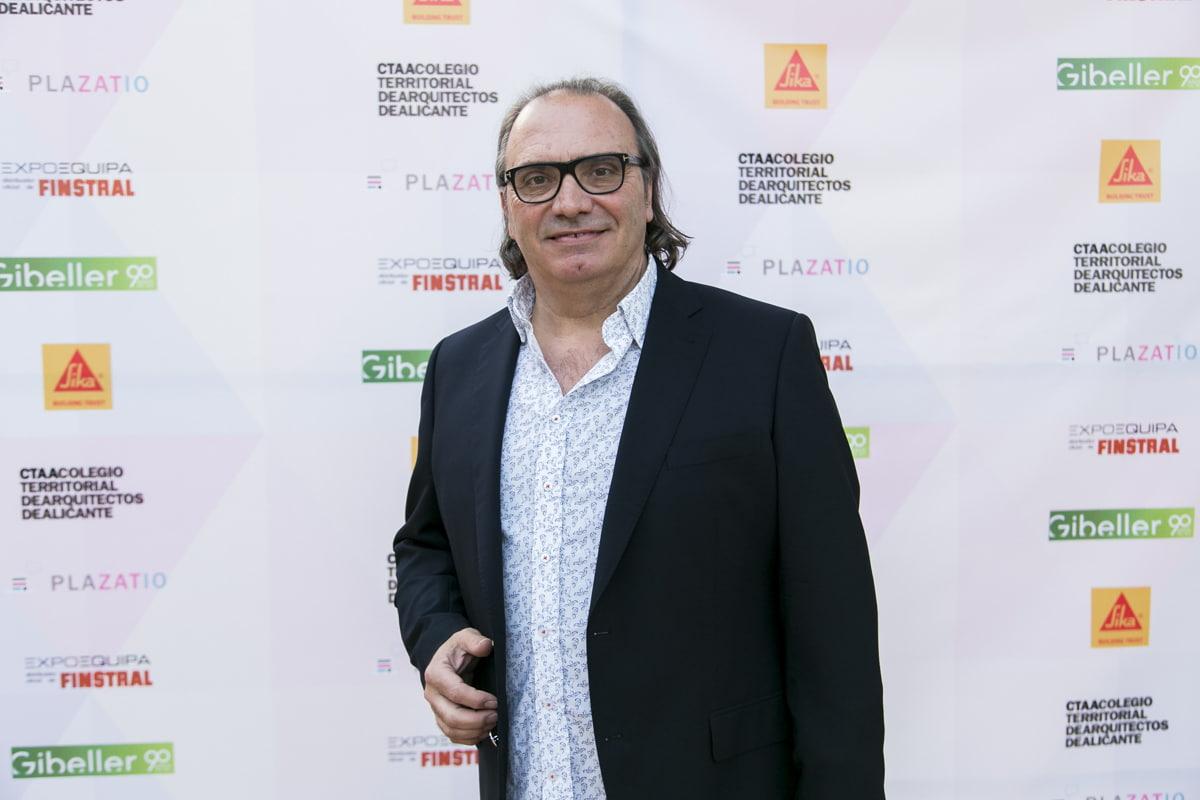 El decano Luís Sendra del Colegio Oficial de Arquitectos de la Comunidad Valenciana (COACV).