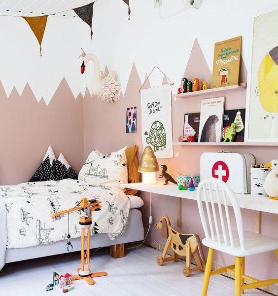 Las mejores pinturas para las habitaciones infantiles
