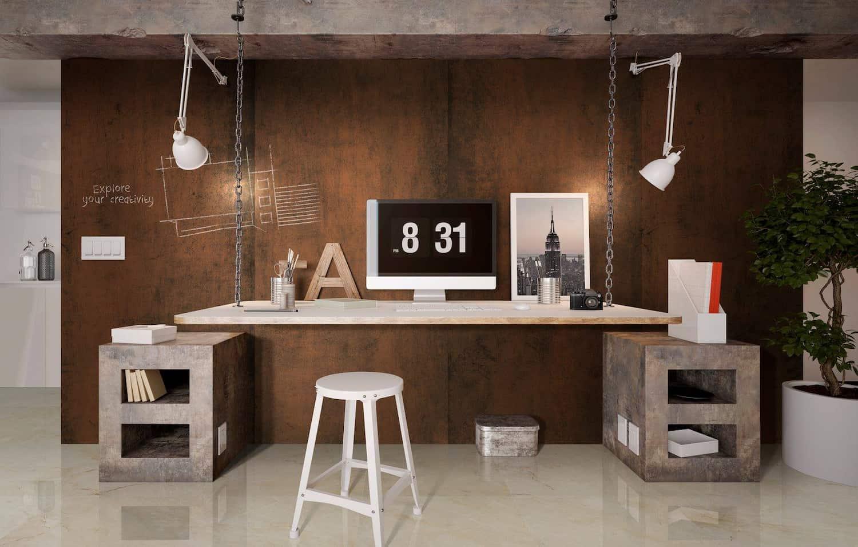 estudio de diseño con gran formato