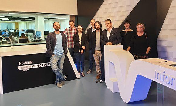 Renovación de la redacción del «Información» y del plató del InformaciónTV (Alicante)