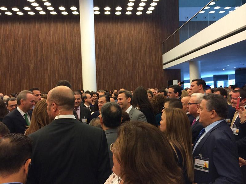 Gibeller en el XVII Congreso Nacional de la Empresa Familiar celebrado en Alicante