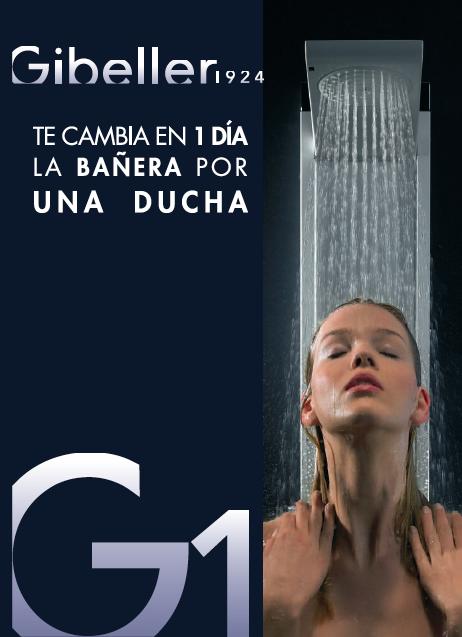 Cambiar bañera por ducha: en sólo 24 horas y sin complicaciones