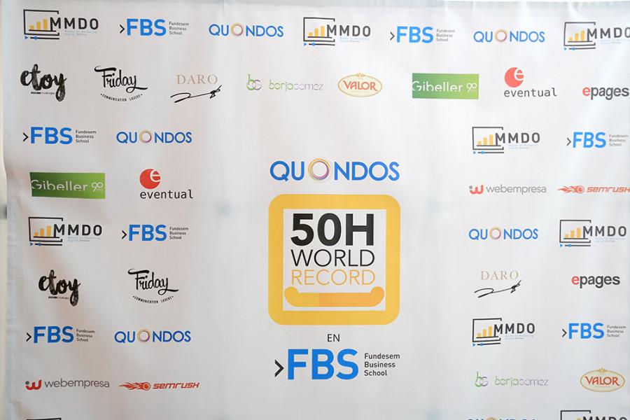 Gibeller acompaña al record Guiness de marketing online