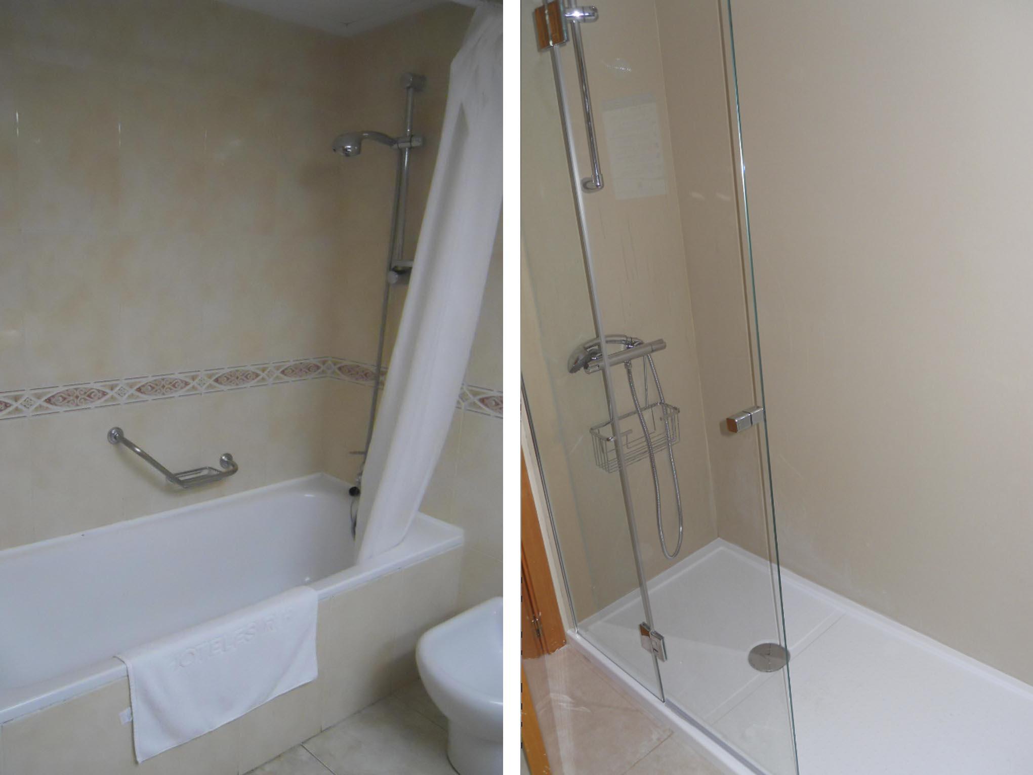 Reforma de baños del hotel Corona, Benidorm