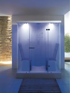 Duravit: Cabinas de ducha con cromoterapia.