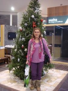 Ganadora del sorteo de  Gibeller Grupo    «Navidades del 2011»