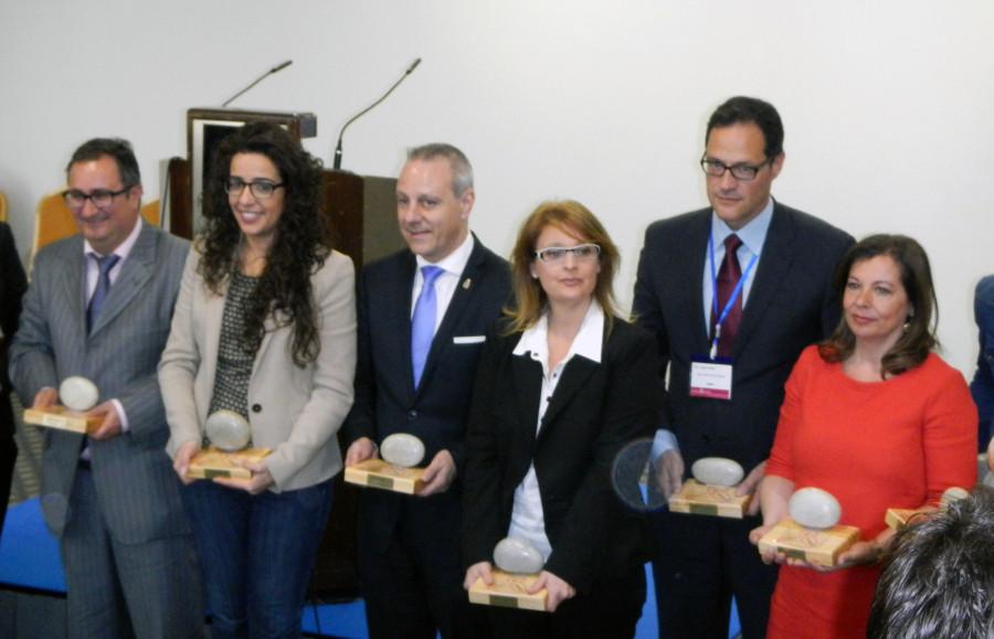 Emotivo reconocimiento a Gibeller en los Premios 8 de Marzo